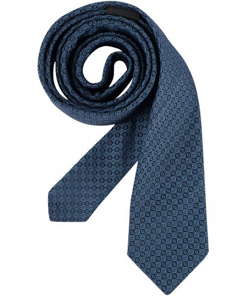 GREIFF Krawatte Slimline blau Accessoires 6918.9700.823 6918 9700 Krawatte